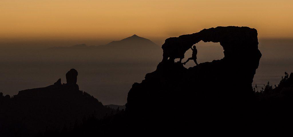 Pico de Las Nieves: Hacia la Ventana del Nublo