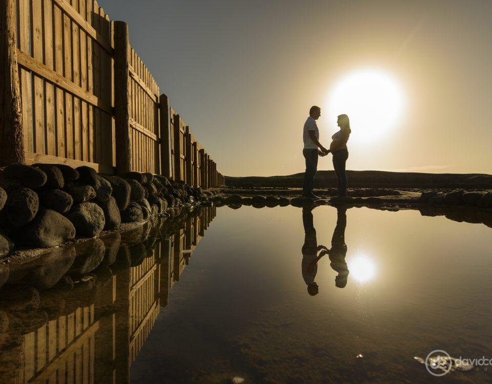 Noelia y Dámaso, sesión de fotos de embarazo. Por David Cabrera Fotografía