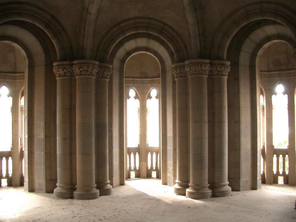 Interior de la Torre Campanario de la Iglesia de Arucas