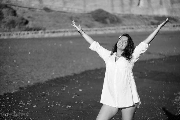 Fotos de Embarazo de Elena en blanco y negro. Por David Cabrera Guillén