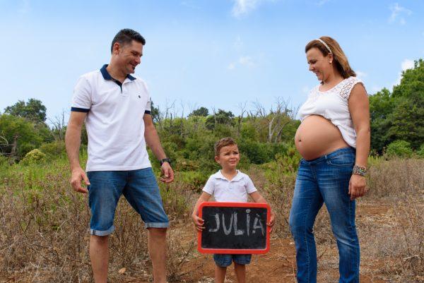 Foto familia en la Finca de Osorio. Embarazo leti. Por David Cabrera Guillén