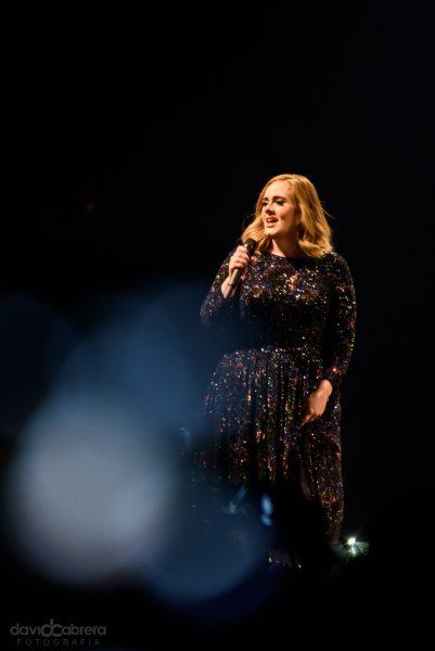 Foto Concierto de Adele en Amsterdam. Por David Cabrera Guillén