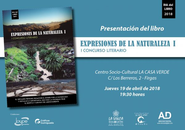 Libro Expresiones de la Naturaleza I Concurso Literario