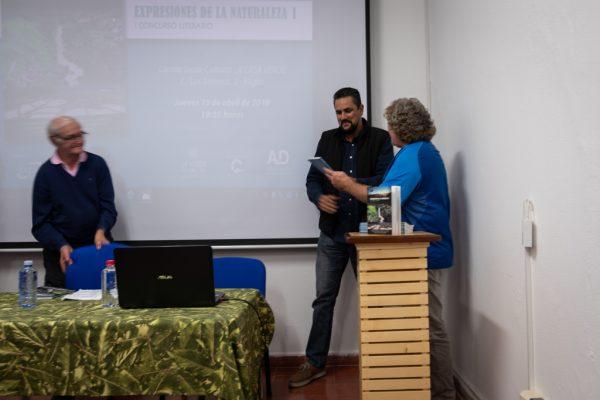 Presentación del Libro Expresiones de la Naturaleza I Concurso Literario